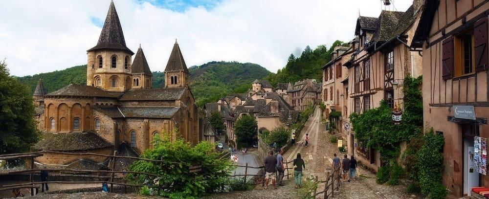 Конк Аверон Франция