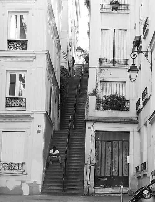 Монмартр Париж