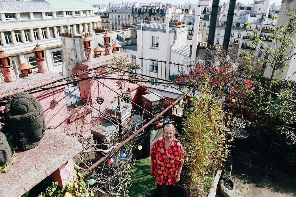 На парижских крышах
