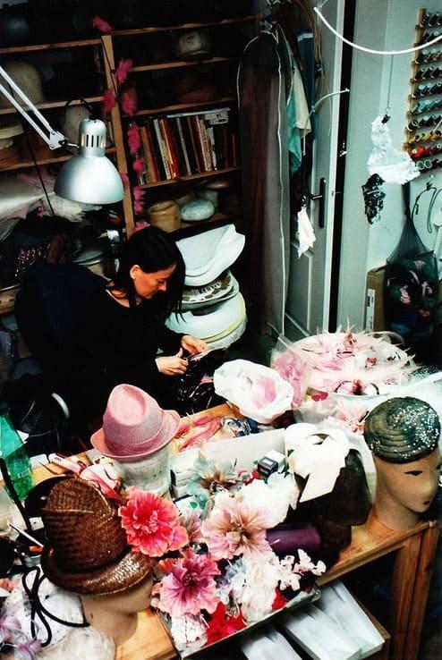 шляпы в Париже