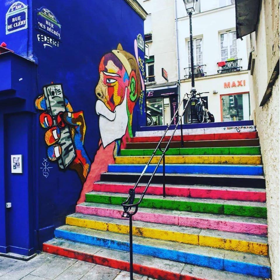 Самые улицы Парижа