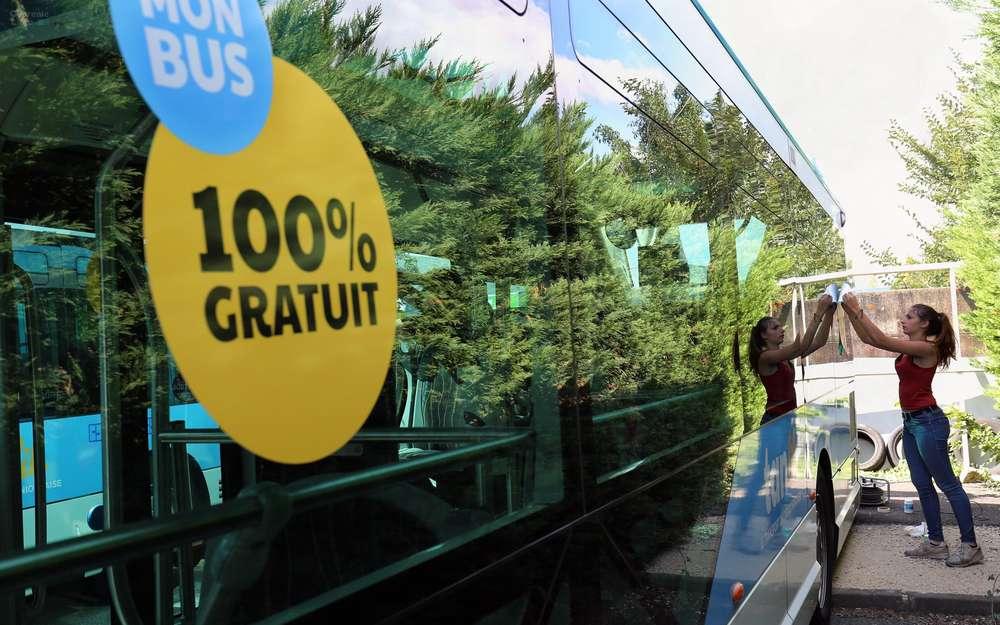 Бесплатный транспорт во Франции