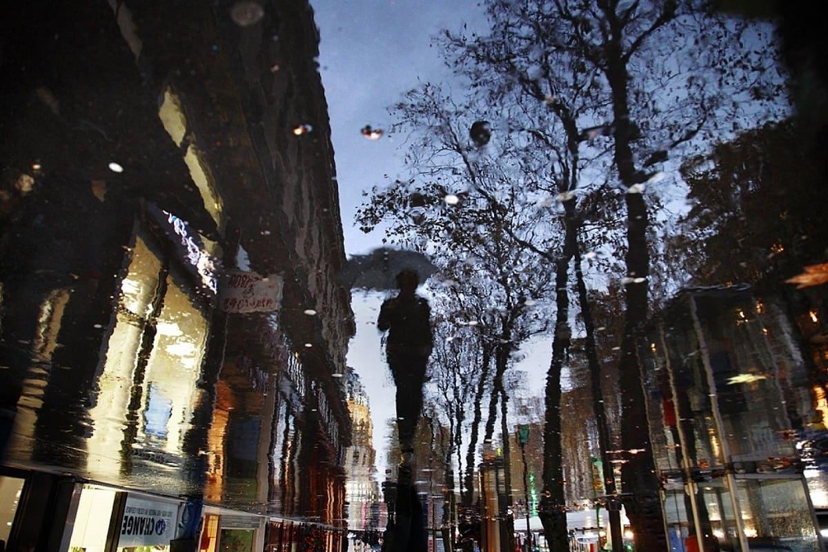 Кристоф Жакро Париж под дождем