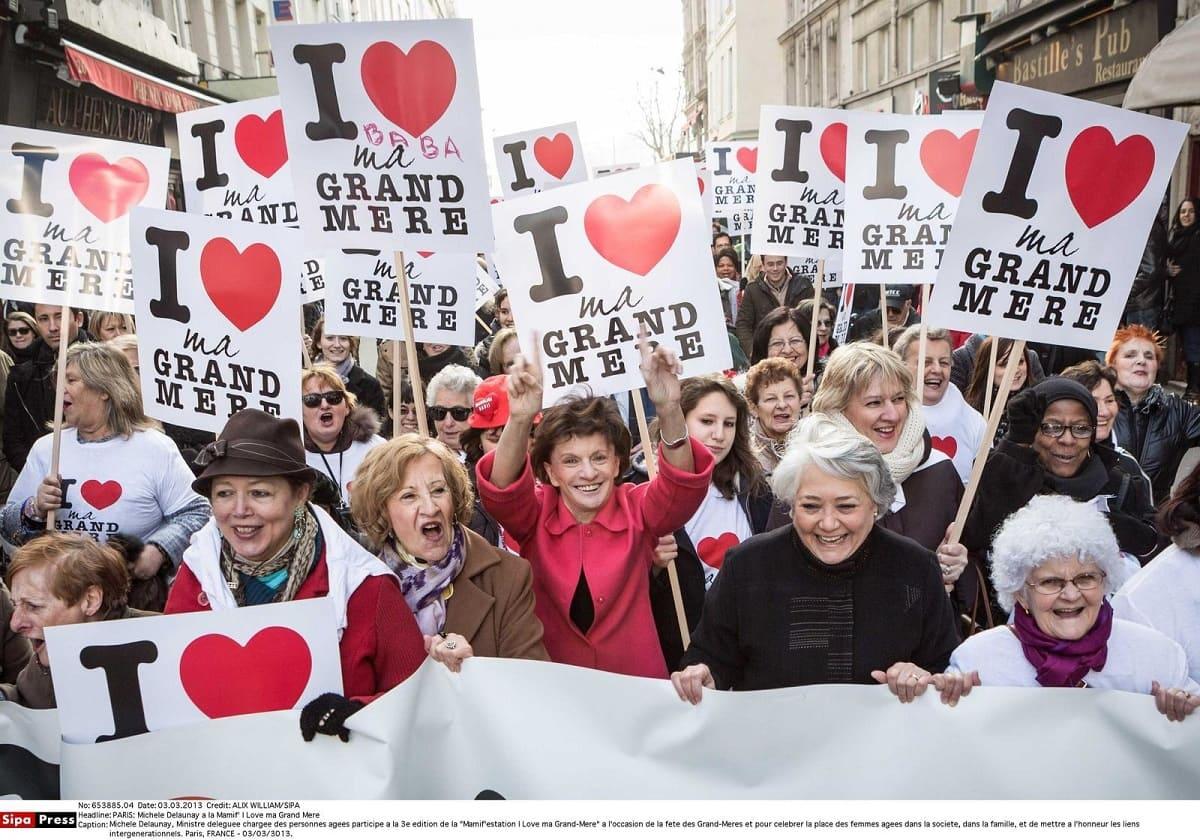 День бабушек во Франции