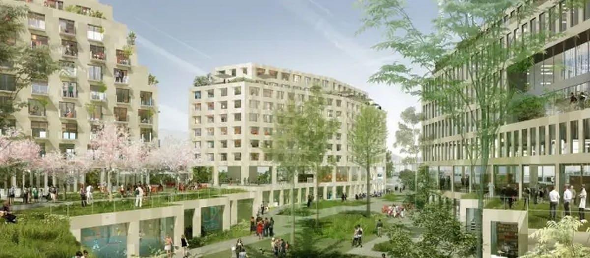 Проекты в Париже