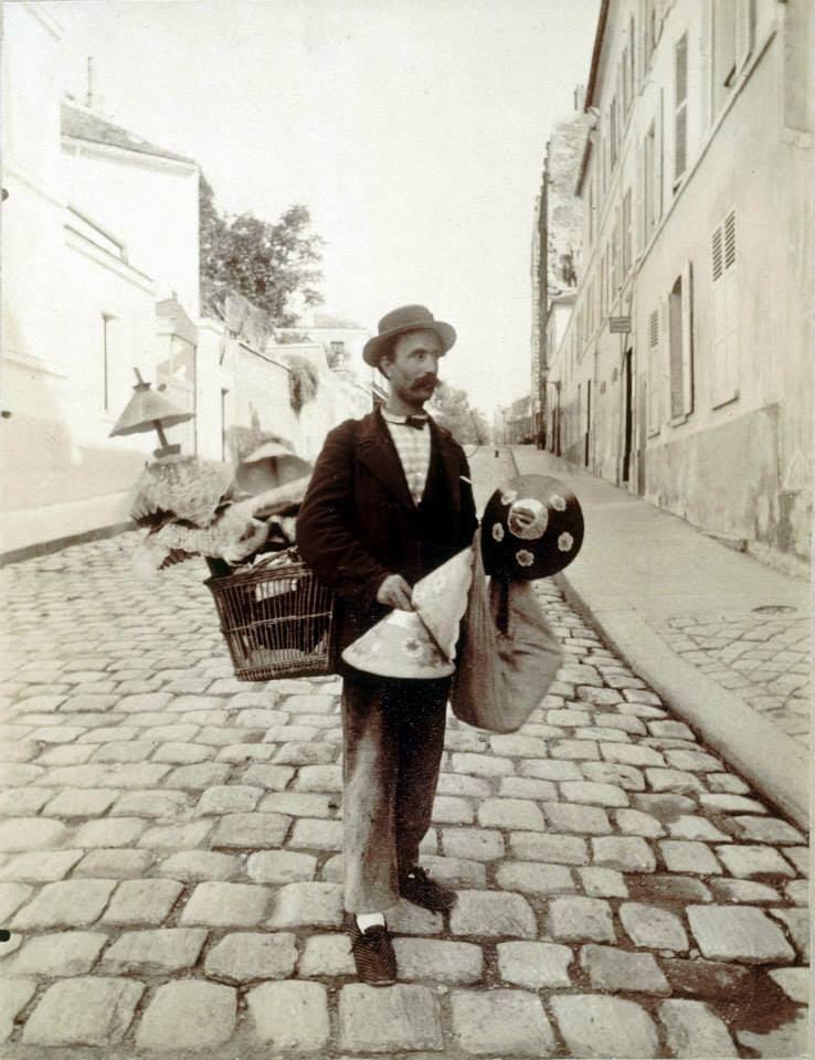 Старые фотографии Парижа