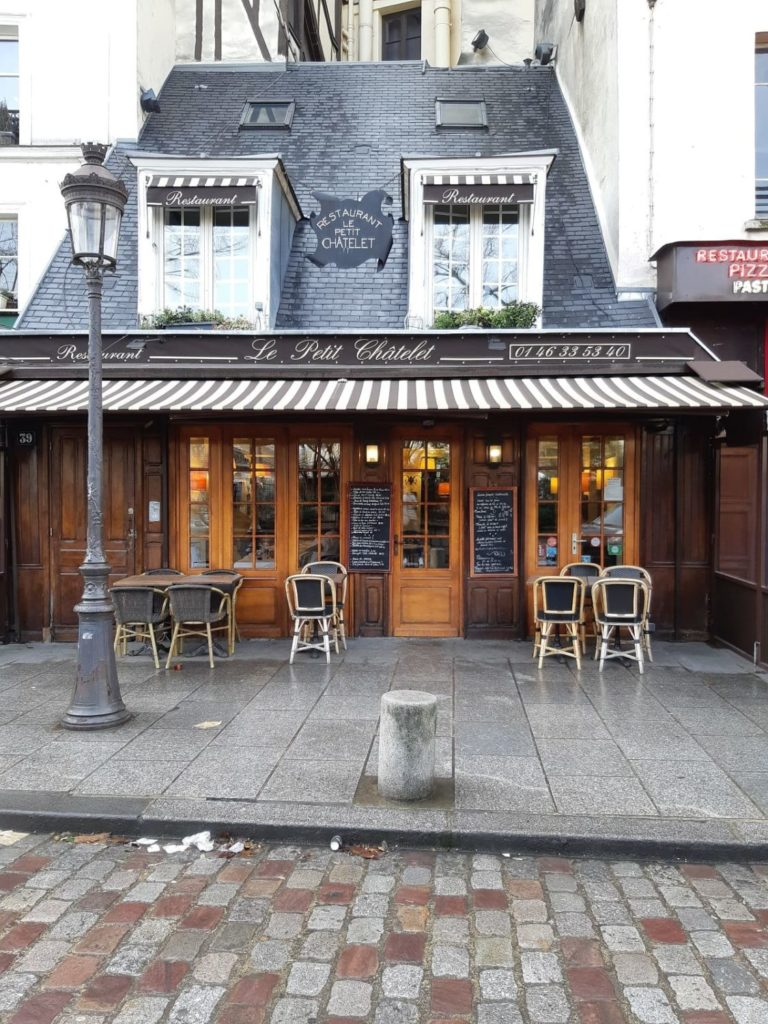 Впервые в Париже